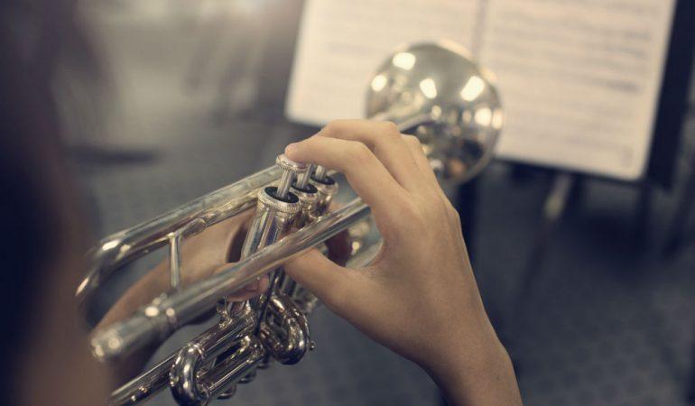 Merano Brass Pocket Trumpet